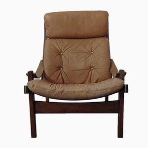 Hunter Chair by Torbjørn Afdal for Bruksbo, 1960s