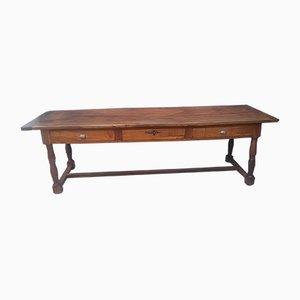 Grande Table de Drapier Antique