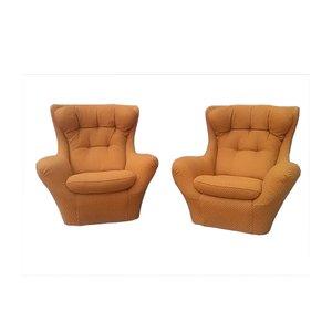 Vintage Sessel von Steiner, 2er Set