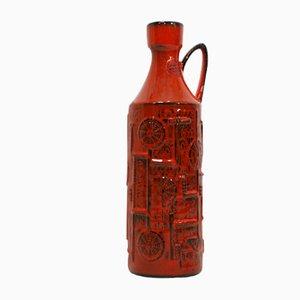 Jarrón Narvik de cerámica de B. Mans para Bay Keramik, años 60