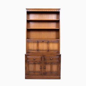 Golden Dawn Elm Drinks Cabinet from Ercol, 1950s