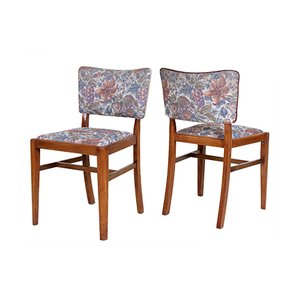 Danish Butterfly Walnut Dining Chairs, 1960s, Set of 6