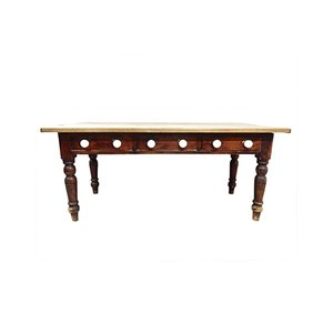 Table de Cuisine Antique en Pin