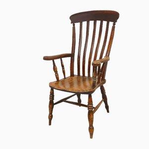 Großer viktorianischer Windsor Armlehnstuhl