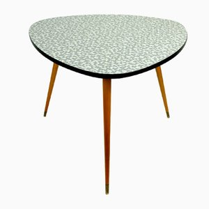 Mid-Century Mosaic Kidney Table