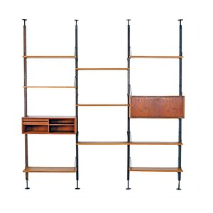 Modular Shelving System by Poul Cadovius for Cado, 1960s