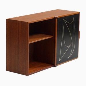 Mueble de pared de Östen Kristiansson para Luxus, años 50