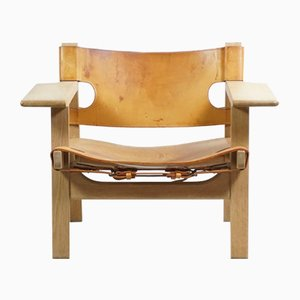 The Spanish Chair by Børge Mogensen for Fredericia, 1960s