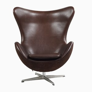 Vintage Egg Chair by Arne Jacobsen for Fritz Hansen, 1950s