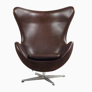 Vintage Egg Chair von Arne Jacobsen für Fritz Hansen, 1950er