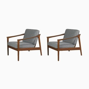 Monterrey Easy Chairs by Folke Ohlsson for Bodafors, 1960s, Set of 2