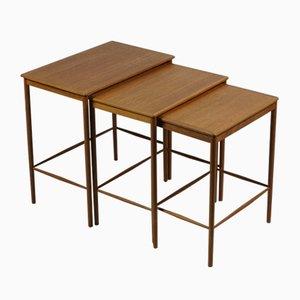 Tavolini ad incastro di Grete Jalk, anni '60