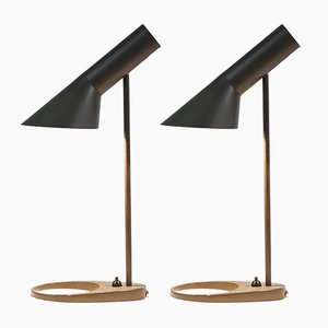 AJ Lamps by Arne Jacobsen for Louis Poulsen, 1950s, Set of 2