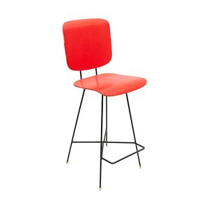 Rotterdam Studio Stool by P.J. van der Klugt for Everest, 1957