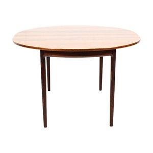 Ausziehbarer Esstisch von IB Kofod-Larsen für Säffle Möbelfabrik, 1950er