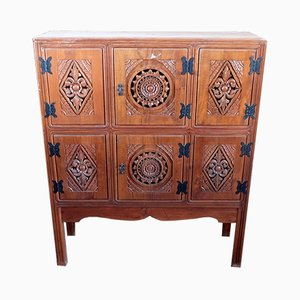 Mueble indonesio de teca, años 50