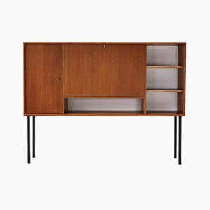 Vintage Teak Secretaire from WK Möbel, 1960s