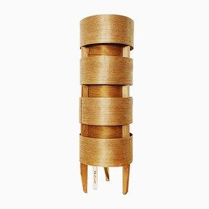 Lampada da tavolo in legno di Hans Agne Jakobsson per AB Markaryd, anni '60