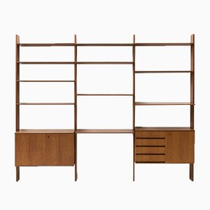 Freestanding Wall Unit by Peter Petrides for Interna Wandmöbel, 1970s