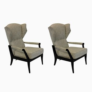 Fauteuils Inclinables Mid-Century, Italie, Set de 2