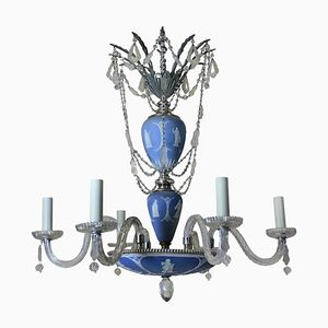 Antique English Chandelier from Wedgwood, 1910s
