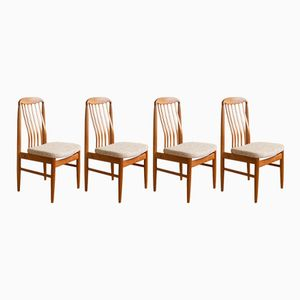 Dining Chairs by Benny Linden, 1960s, Set of 4