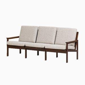 3-Sitzer Sofa von Illum Wikkelso für Niels Eilersen, 1960er