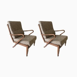 Armchairs from Molliperma, 1950s, Set of 2