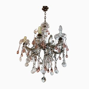 Antique Bohemian Crystal Maria Teresa Chandelier