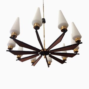 Vintage Chandelier from Stilnovo, 1950s