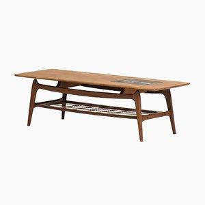 Table Basse par Louis van Teeffelen & Jaap Ravelli pour Wébé, 1950s