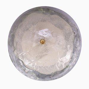 Deckenlampe aus Schmelzglas von J.T. Kalmar, 1950er