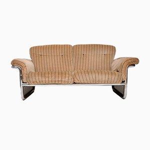 Sofa mit Gestell aus verchromtem Stahl von Rodney Kinsman für OMK, 1970er