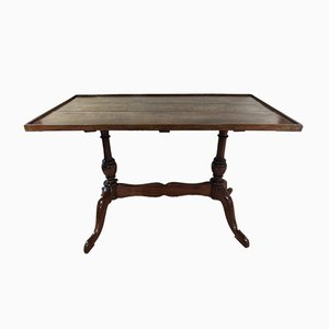 Early 20th Century Regency Walnut Low Side Table