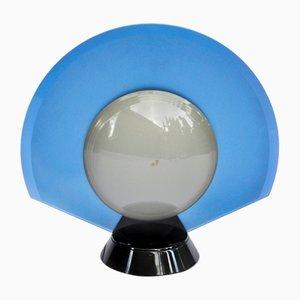 Italienische Tischlampe aus Milchglas von Pier Giuseppe Ramella für Arteluce, 1980er