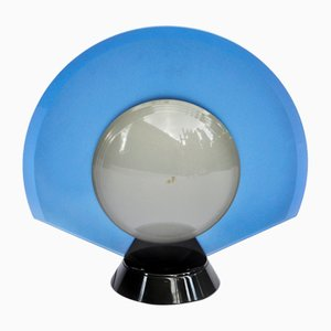 Lampada da tavolo in vetro satinato di Pier Giuseppe Ramella per Arteluce, Italia, anni '80