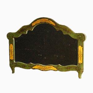 Venezianischer Vintage Spiegel mit lackiertem Holzrahmen