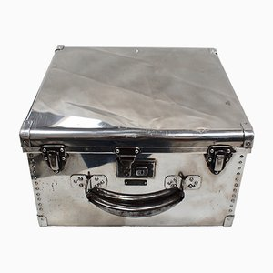 Polished Lockheed Aluminium Hat Box by Race Ernst, 1940s
