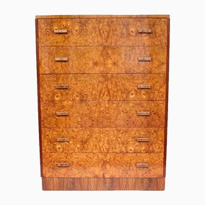 Vintage Art Deco Chest of Drawers from H.G Furniture