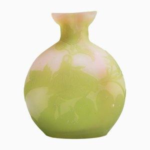 Antike Vase von Verrerie gallé