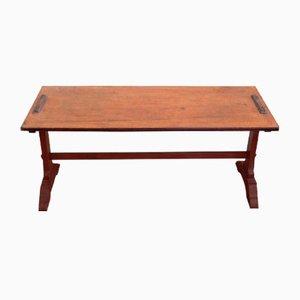 Table Basse en Noyer, 1950s