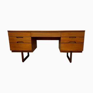 Uniflex Vintage Schreibtisch aus Teak, 1960er