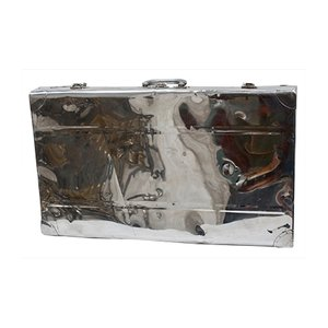Maleta de aluminio, años 40