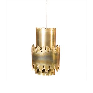 Brass Pendant by Svend Aage Holm Sørensen for Holm Sørensen & Co, 1950s