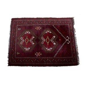Vintage Orientteppich aus Wolle