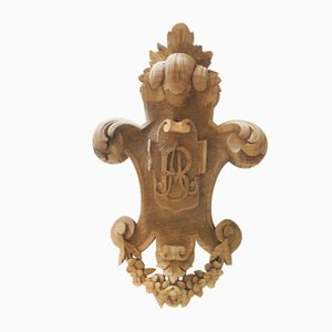 Antique French Ornamental Pendant