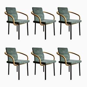 Mandaring Stühle von Ettore Sottsass für Knoll Inc, 1980er, 6er Set
