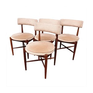 Fresco Dining Chairs from G-Plan, 1970s, Set of 4
