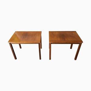 Tables d'Appoint en Teck, Suède, 1960s, Set de 2