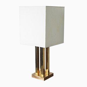 Lampada da tavolo grande in ottone, Italia, anni '70